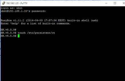 Cara Menampilkan Compilant Test Pada AirGrid M5HP Via Puttty