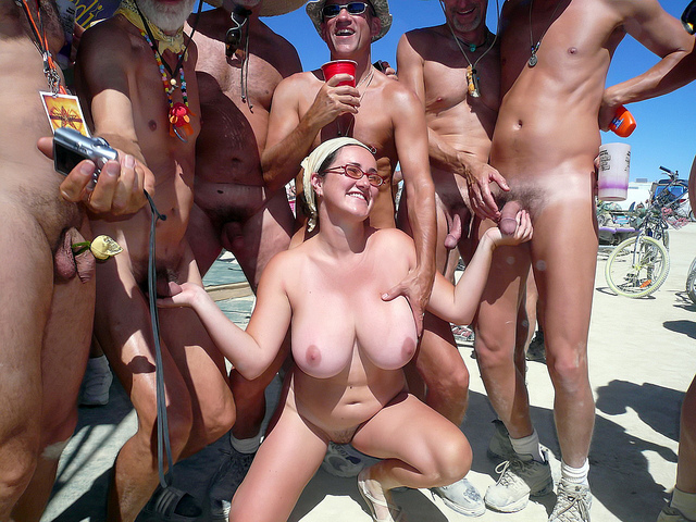 gang bang beach