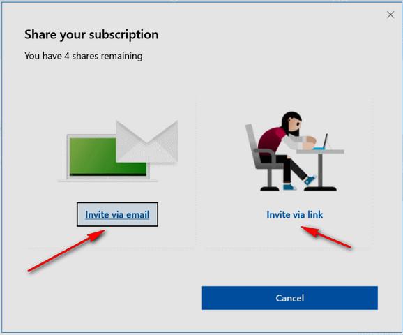 كيفية مشاركة تطبيقات أوفيس Office 365 Home مع الآخرين