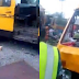 Female Bread Seller Hit By Danfo Bus In Lagos. [See Graphic Photos]