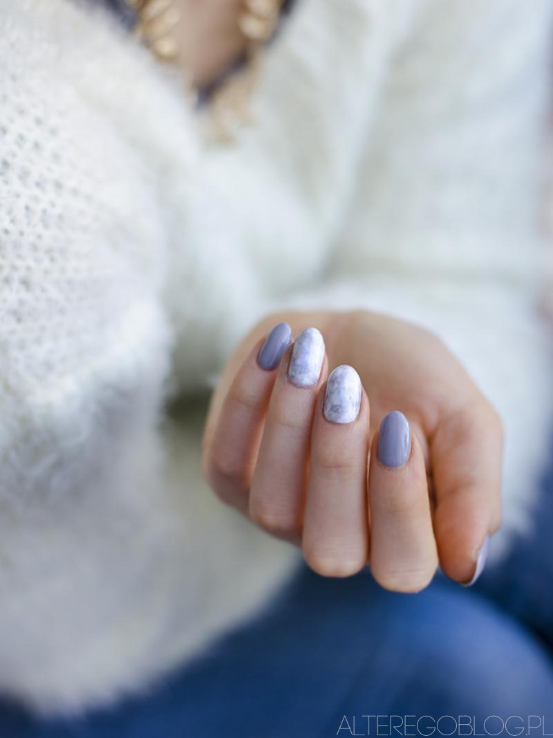 semilac, cieniowane paznokci, lakier do paznokci, paznokcie hybrydowe, paznokcie, marble nails. jak zrobic marmurkowe paznokcie, marmurkowe paznokcie, paznokcie hybrydowe,