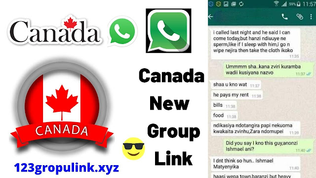 Join 500 + Canada Whatsapp group link