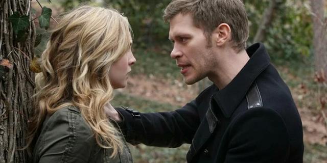 Klaus Saved Caroline From A Werewolf Bite
