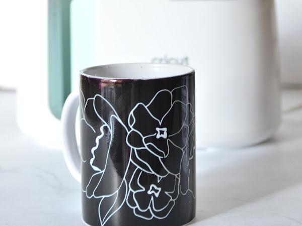 How to Make a Custom Mug with the Cricut Mug Press