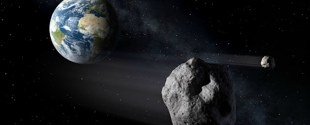 Breaking Next month an asteroid will pass so close up to Earth, we strength see it in the sky