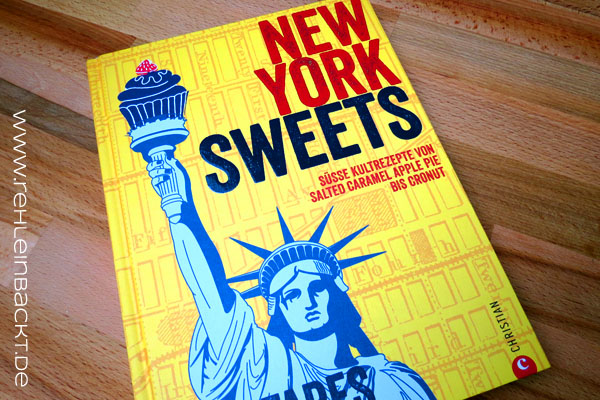 New York Sweets von RoyFares – Meine Rezension plus Rezepttest: Cheesecake-Swirl-Brownies | Foodblog rehlein backt