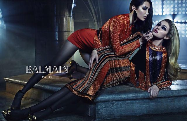 Balmain Fall/Winter 2015 Campaign is all about siblings