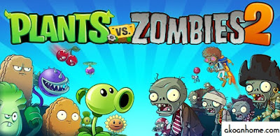 تحميل لعبة النبات ضد الزومبي 2 احدث اصدار Plants VS Zombie 2 apk