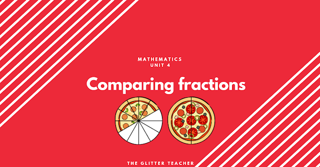 Comparing fractions. Mathematics year 6