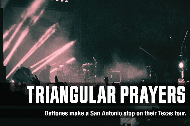 Deftones at Lone Star Brewery. San Antonio, TX.