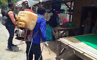 Gugus Tugas COVID-19 Kabupaten Bima Tuntaskan Disinfektan 100 Area