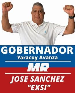 JOSÉ SÁNCHEZ CANDIDATO A GOBERNADOR  YARACUY