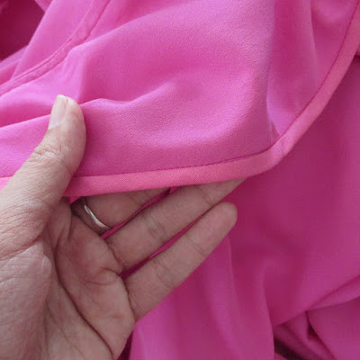 Darlene's Silk Coat: construction details