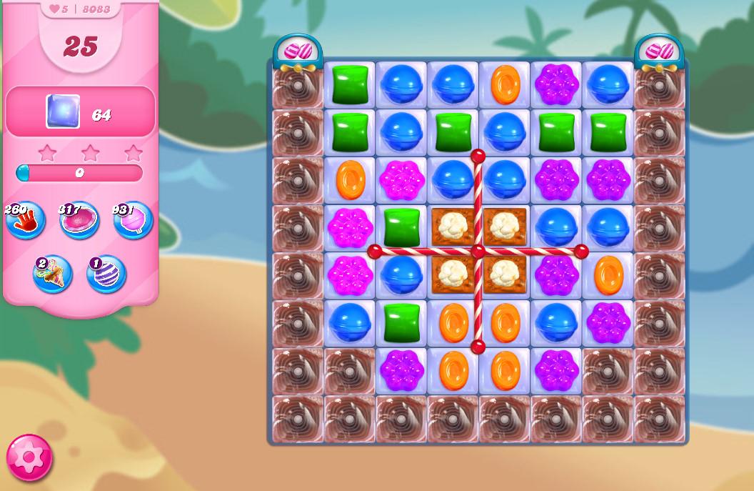 Candy Crush Saga level 8083