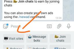 BTC Click Bot Faucet Legit Di Telegram Untuk Pemula