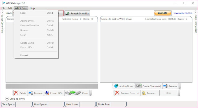 WBFS Manager 4.0 Free Download For Windows 10,7,8/8.1 PC