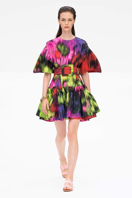 Carolina Herrera runway fashion SS20 trends be fashion blogger Kelly Fountain