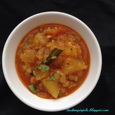 Dosakaya Tomato Curry