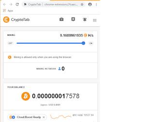 CRYPTOTAB Aplikasi mining bitcoin di android yang masih work dan Membayar