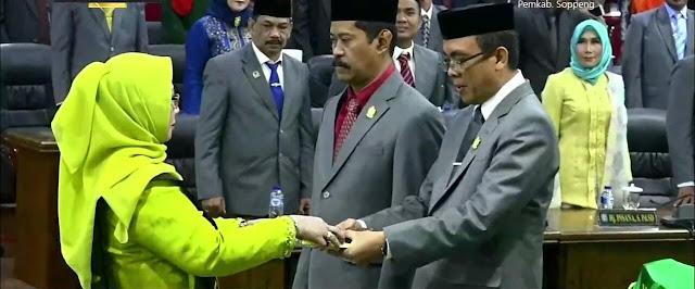 Partai Golkar Kembali Raih Ketua DPRD Soppeng