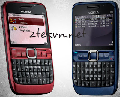 Nokia E63 3