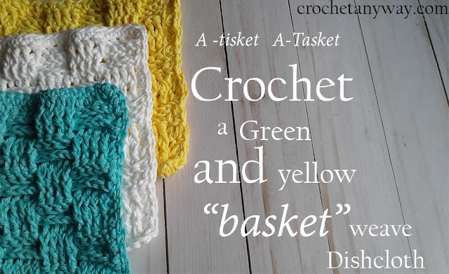 multicolored crochet dishcloths