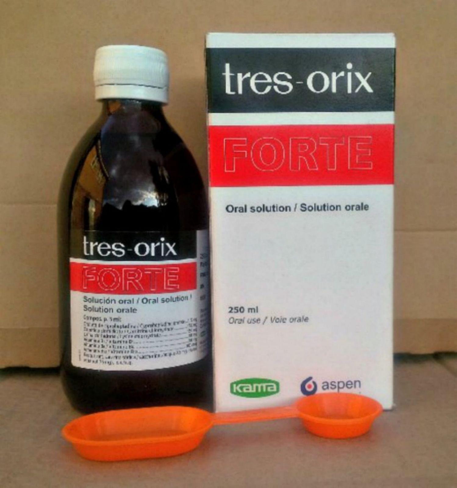 سعر ودواعي استعمال شراب تريس اوريكس Tres Orix للدم