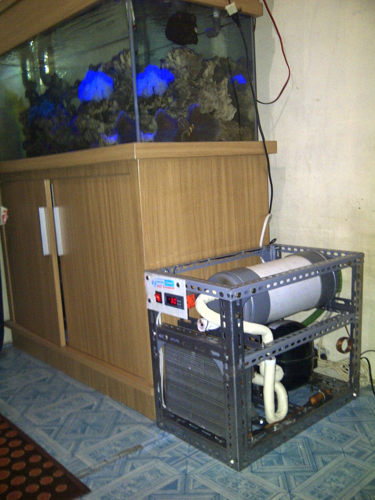 Chiller Aquarium Jogja Service Centre