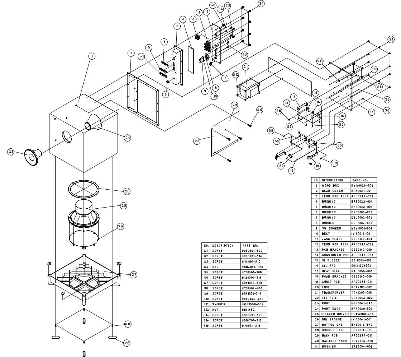 Master Electronics Repair Jbl Sub350 Dolby Pro Logic