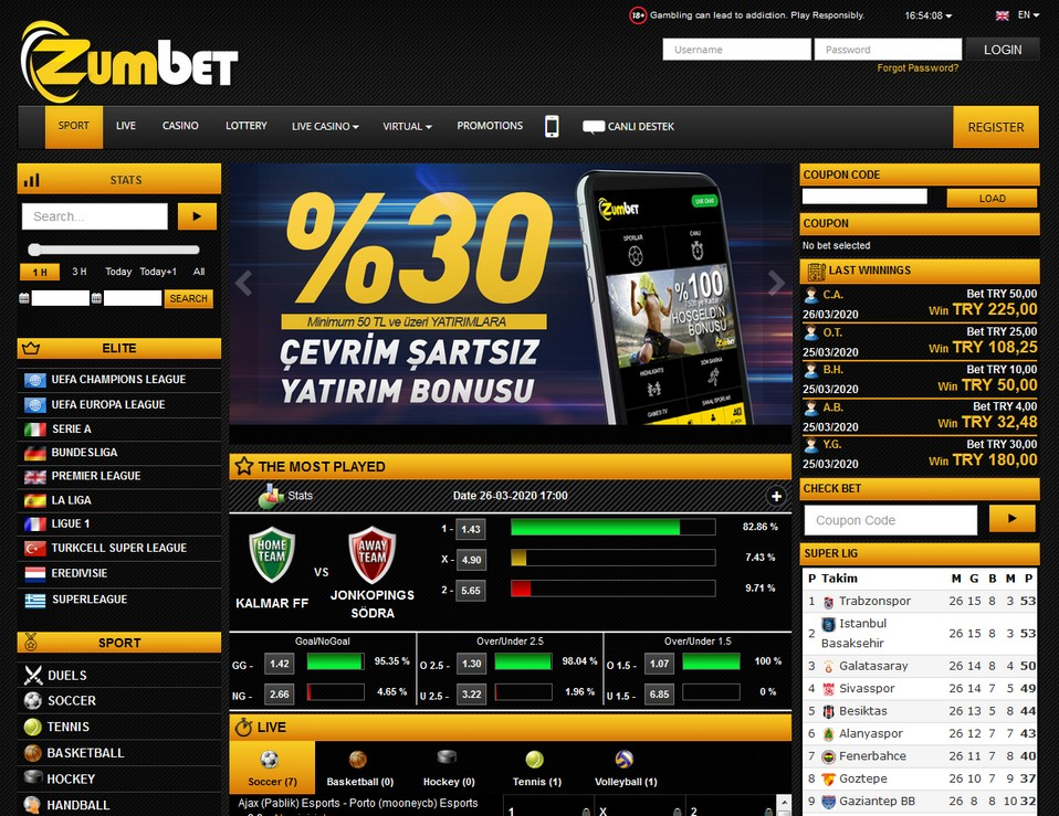Zumbet Screen