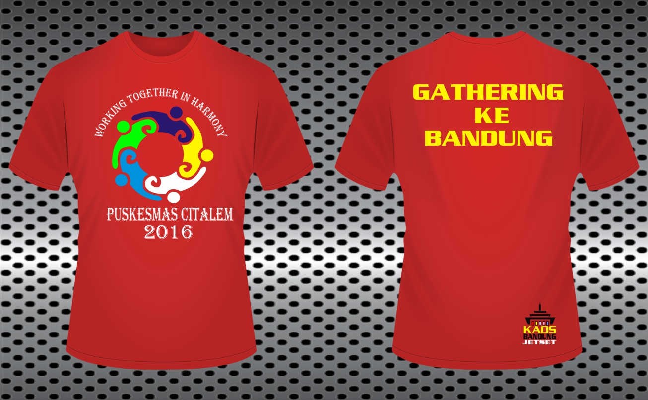 Model Baju Kaos Event Outing Terbaru