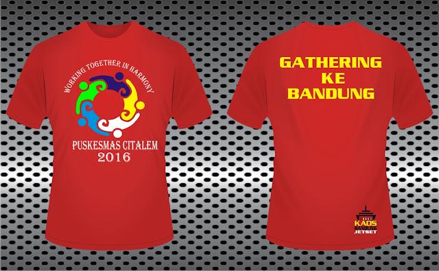 Tempat Bikin Kaos Gathering Terbaik Termurah di Bandung Jakarta
