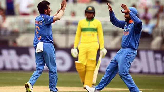 India Australia Score