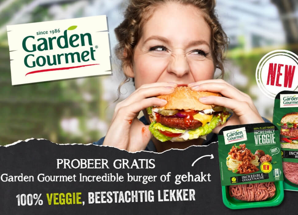 Gratis Garden Gourmet Incredible Burger of gehakt