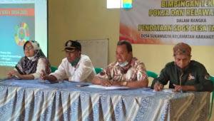 Desa sukamulya laksanakan bimbingan teknis relawan pendataan SDGs