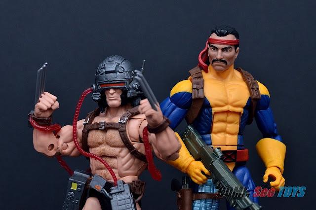 Marvel Legends Series Forge & Weapon X (Caliban BAF)
