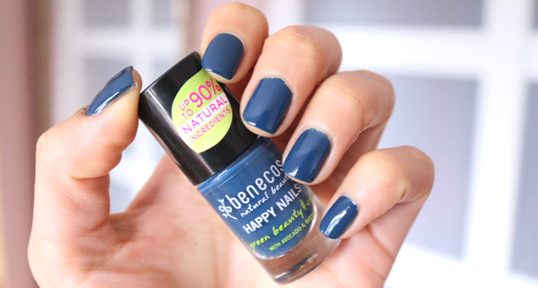 Benecos Happy Nails Natural Nail Polish in Nordic Blue
