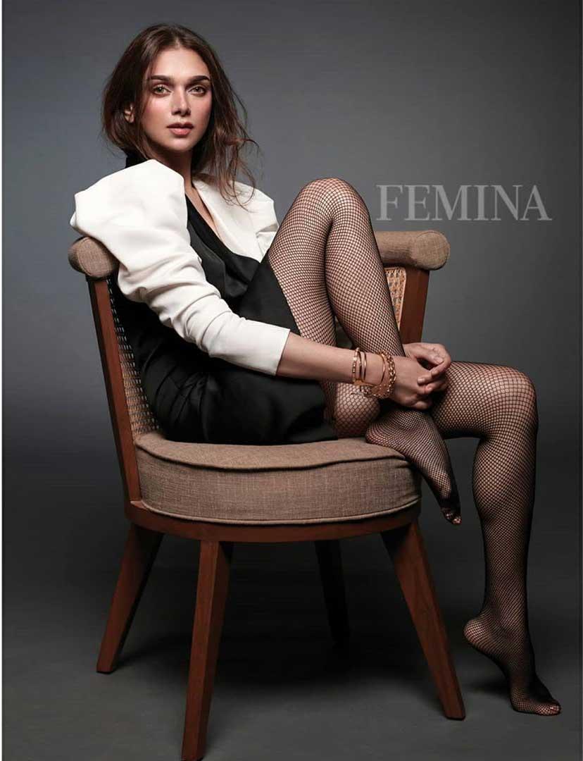 aditi rao hydri femina magazine hot pics