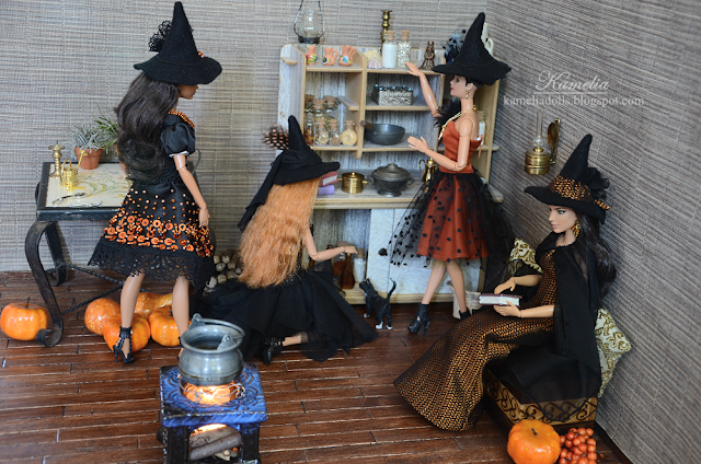 Barbie - Halloween witches