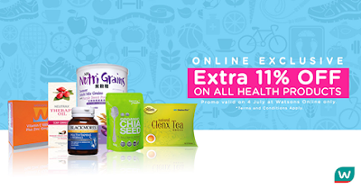 Watsons Malaysia Online Store Exclusive Discount Health Products