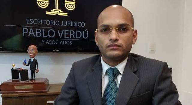 ABOGADO PABLO VERDÚ ALGUNOS SANCIONADOS PODRÁN DEMOSTRAR Y ACLARAR SU SITUACION FINANCIERA ANTE LA OFAC