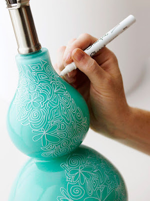 Decoración con sharpies