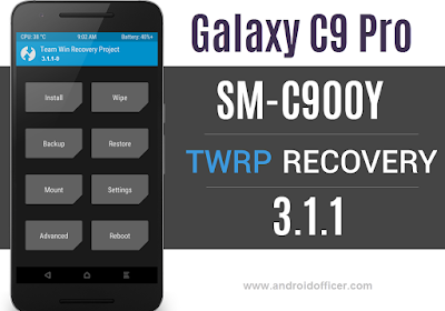 TWRP Recovery for Galaxy C9 Pro SM-C900Y