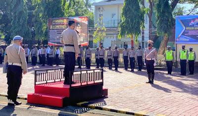 Apel pasukan Polres Bantaeng