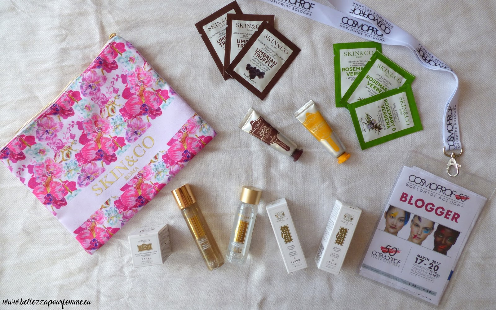 Il perfetto beauty case per bagaglio a mano firmato Skin&Go