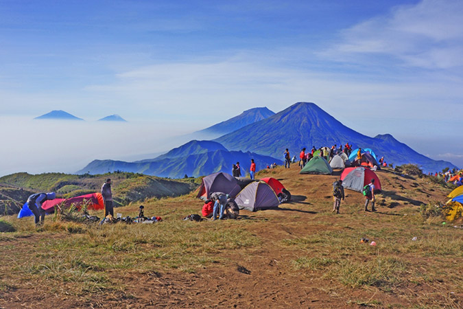 Dlium Mount Prau, a sunrise hunter paradise