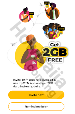 How to Get 2GB Free Data on MTN via MyMTN App