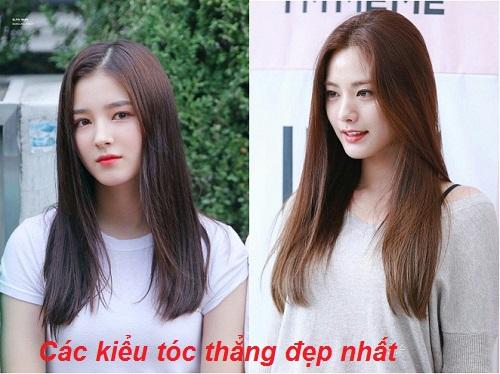 Mái tóc thẳng dài truyền thống là kiểu tóc tuổi 35 được nhiều chị em lựa chọn.
