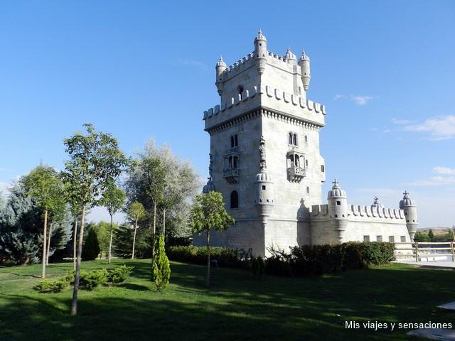 La torre de Belém, Parque Europa, Torrejón de Ardoz (Madrid)