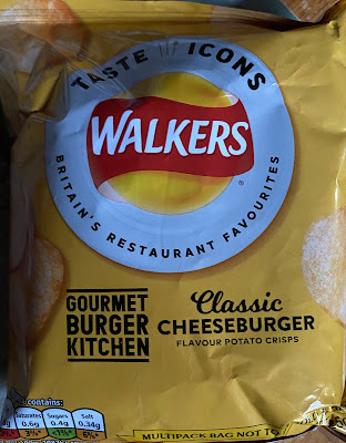 Walkers Taste Icons: GBK Classic Cheeseburger